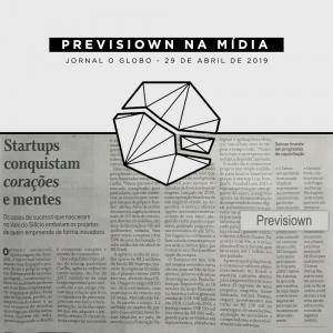 previsiown na mídia - jornal O Globo